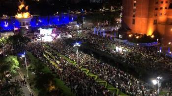 遊行人潮擠爆高雄街頭!罷韓團體:從韓國瑜手中收回印信
