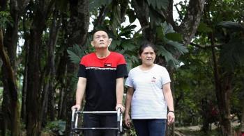 20年間198位清潔隊員因公死亡 他被撞斷腿腳骨跑出來