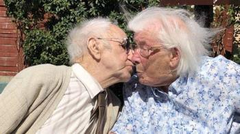 英國結婚80年老夫妻分享愛情幸福秘訣