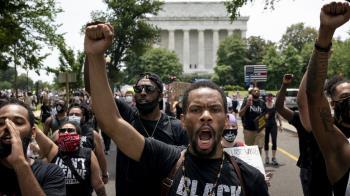 美國種族示威蔓延全球,示威者促政府改革