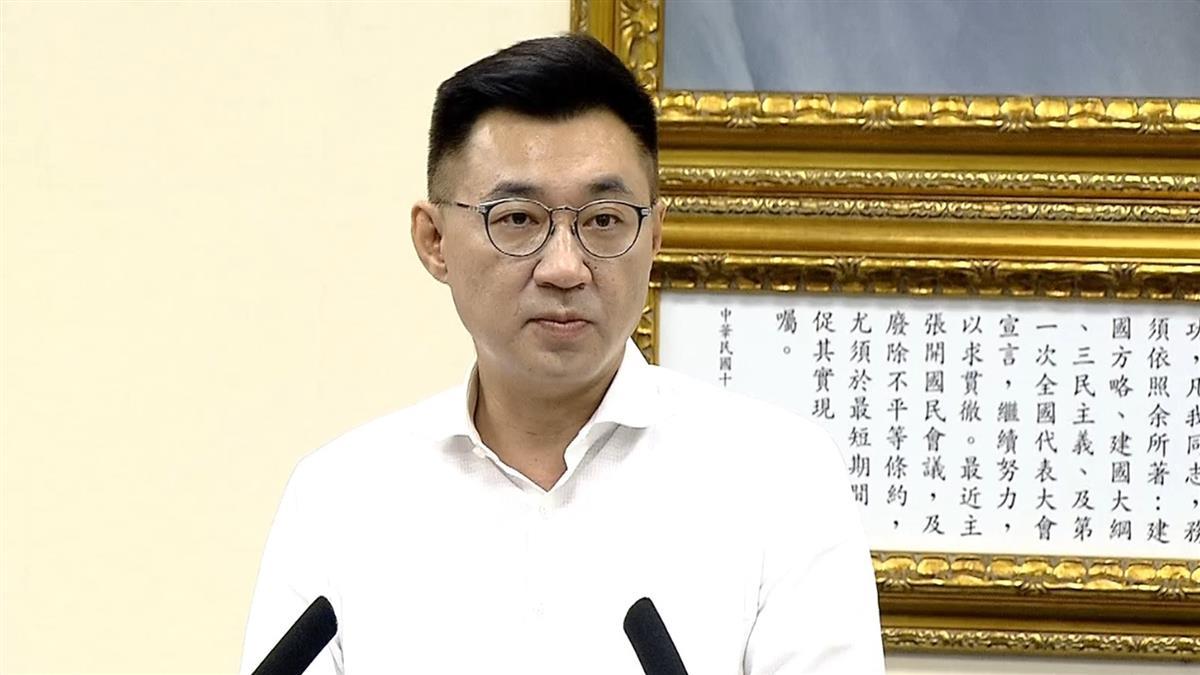 傳親征高雄市長補選?江啟臣:已和韓國瑜見面