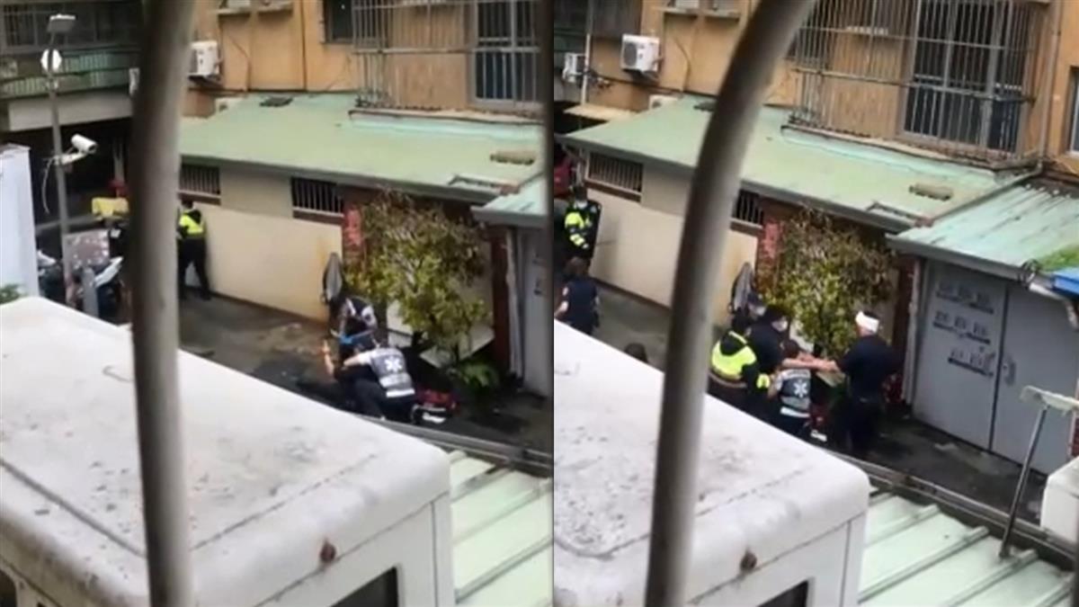 高雄男持刀砍4警察!1警腹部口腔遭捅急送醫