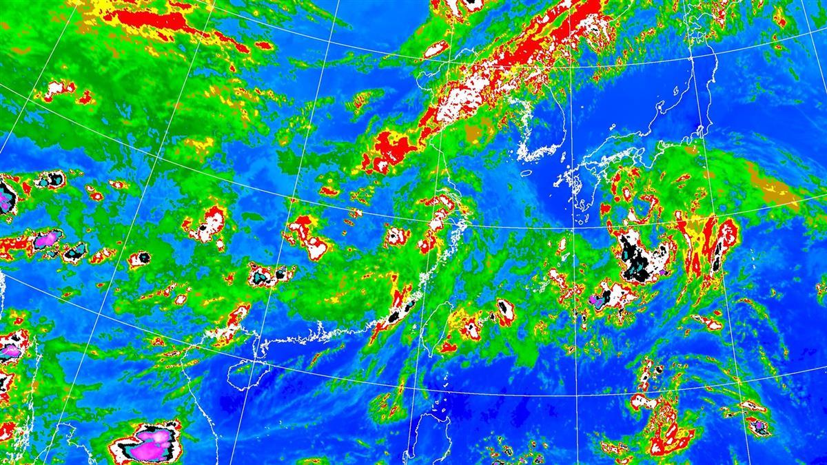 鸚鵡颱風恐生成?這3天水氣增 雷雨範圍擴大