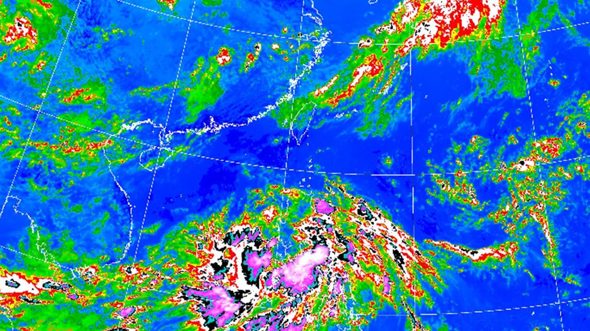 颱風「鸚鵡」週五恐生成!氣象局曝最新路徑
