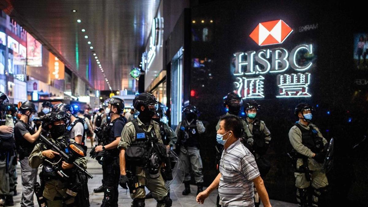 匯豐銀行:香港《國安法》、華為與肺炎疫情全攤上 「世界的地方銀行」在多重風口浪尖上浮沉