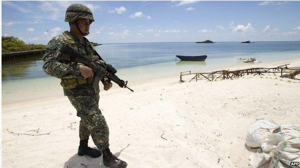 南海局勢熱點:菲律賓在中業島擴大基建