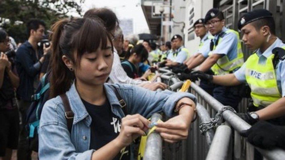香港示威:一週年之際圖文重溫歷史性場景