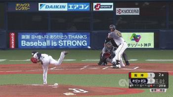 歐力士致敬中職率先開打 盼棒球讓世界重現光芒