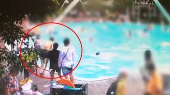 母顧玩手機!7歲兒溺水沒發現 男氣炸飆罵搶救