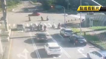 竹南科學園區死亡車禍!男大生撞左轉車 彈飛20米身亡