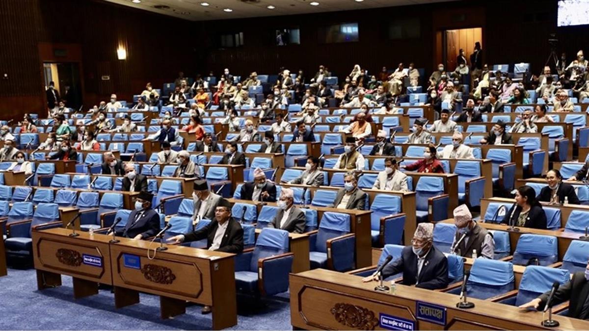 尼泊爾新地圖修憲案 國會下院通過