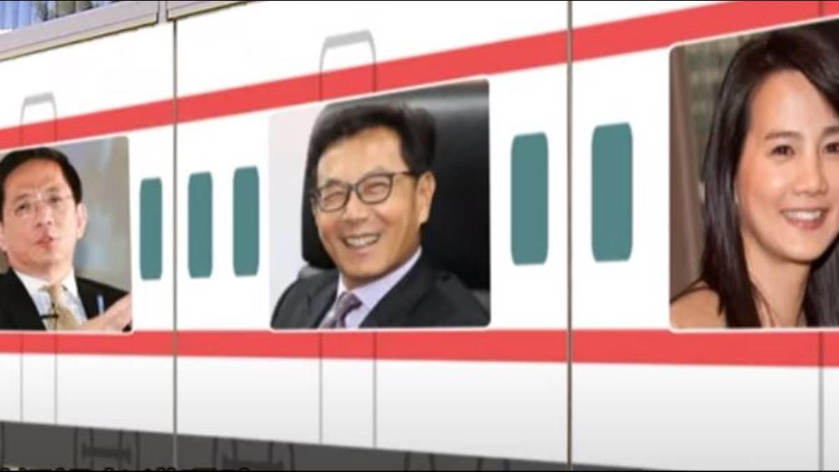 合一生技「富貴列車」 管中閔、彭雪芬都搭上