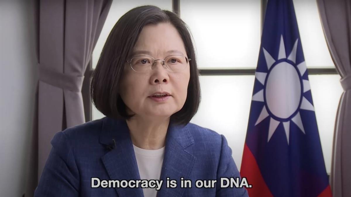 受邀「哥本哈根高峰會」仍不忘香港! 蔡英文:民主就是我們的DNA