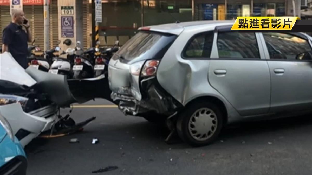 驚悚!少年被撞彈飛車頂重摔 歹徒沿途挾持女駕駛