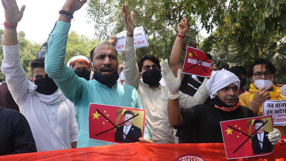 中印衝突:中國「釋放10名印度軍人」 兩國民眾情緒激憤