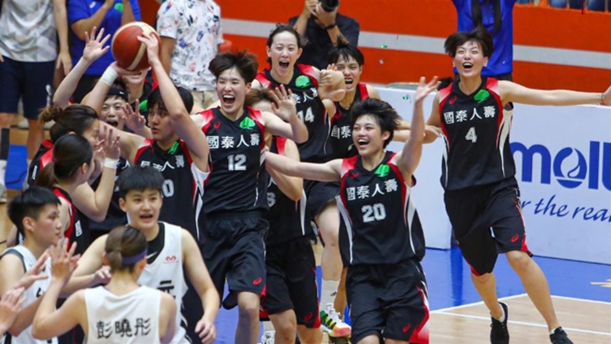 WSBL陳鈺君獲冠軍賽MVP 國泰10連霸成功