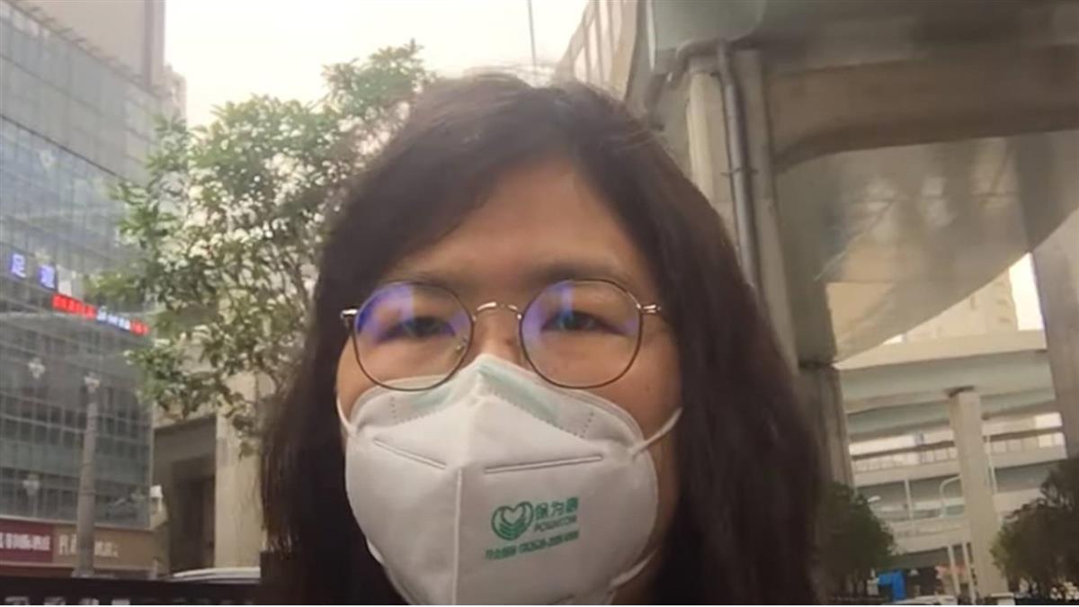 報導武漢疫情 中國大陸公民記者張展被捕