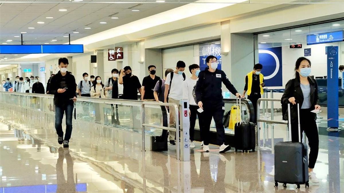 商務客入境可檢疫縮短首日 桃機有4航點班機抵台