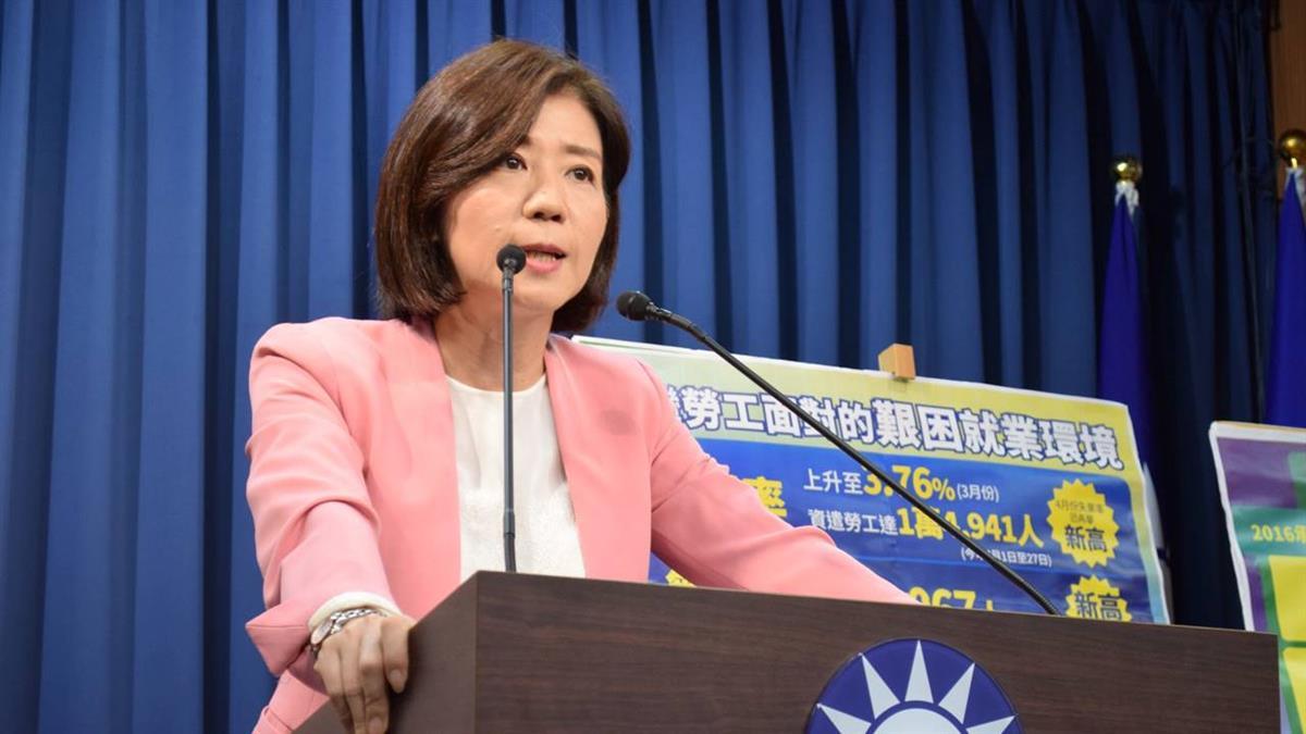 藍兩岸新論述遭黨內質疑 王育敏:還不是定案