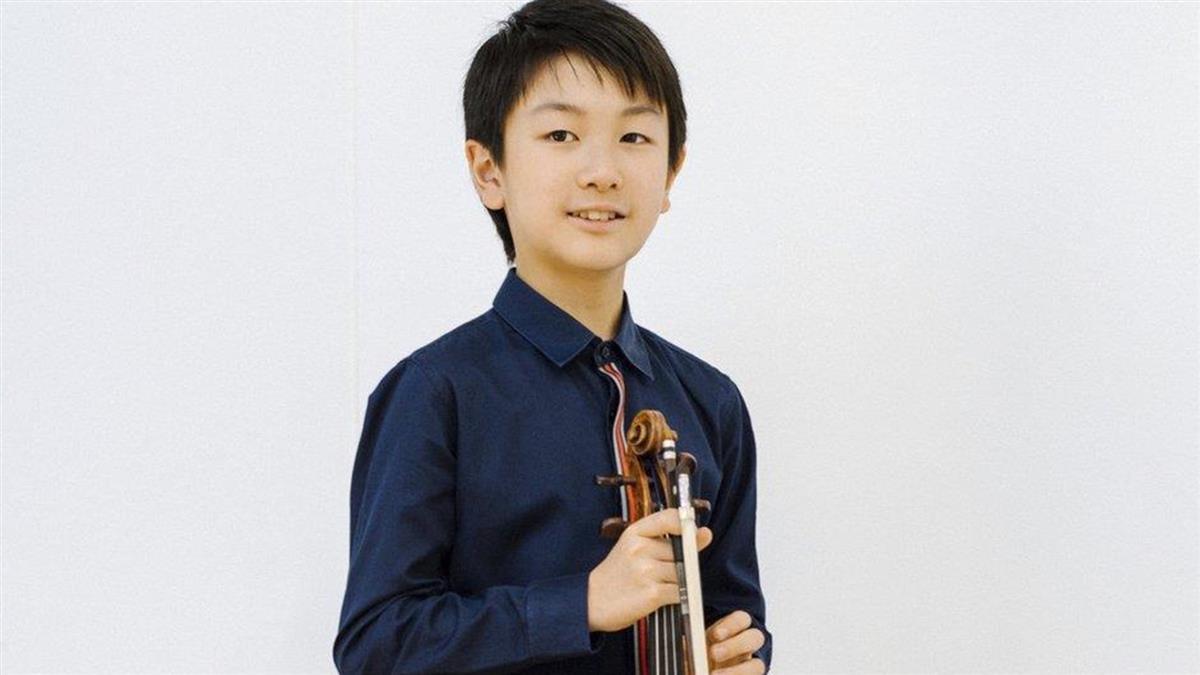華裔音樂神童李映衡 小提琴天才的明星之路