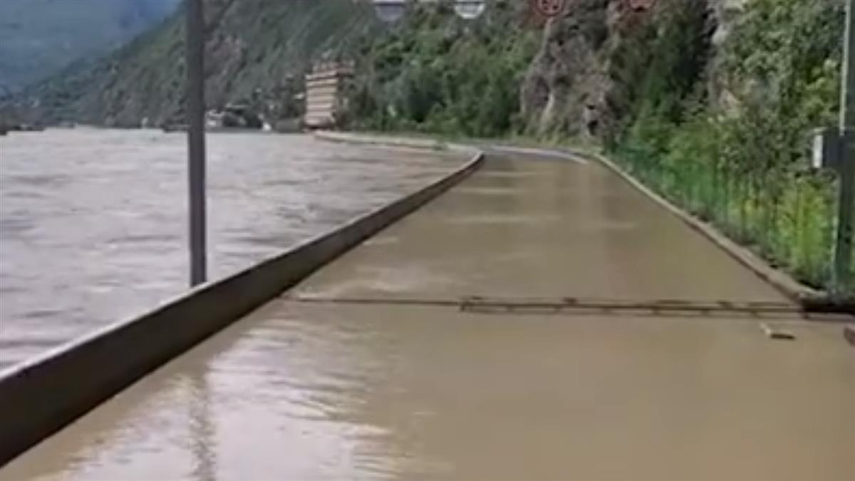 三峽大壩上游洪水急升 官方示警四川民眾快躲避