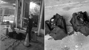 愛河發現屍塊 行李袋驚見2截小腿...滲血水
