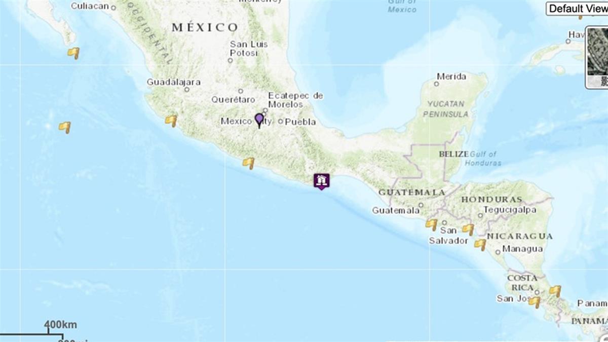 墨西哥7.4級強震!發布海嘯警報 至少5人死亡