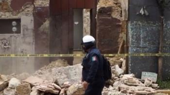 墨西哥7.4強震5死 震央附近交通中斷傷亡恐增