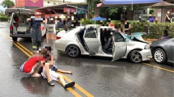 宜蘭冬山5車連環撞!25歲男酒駕 9人受傷倒地哀嚎