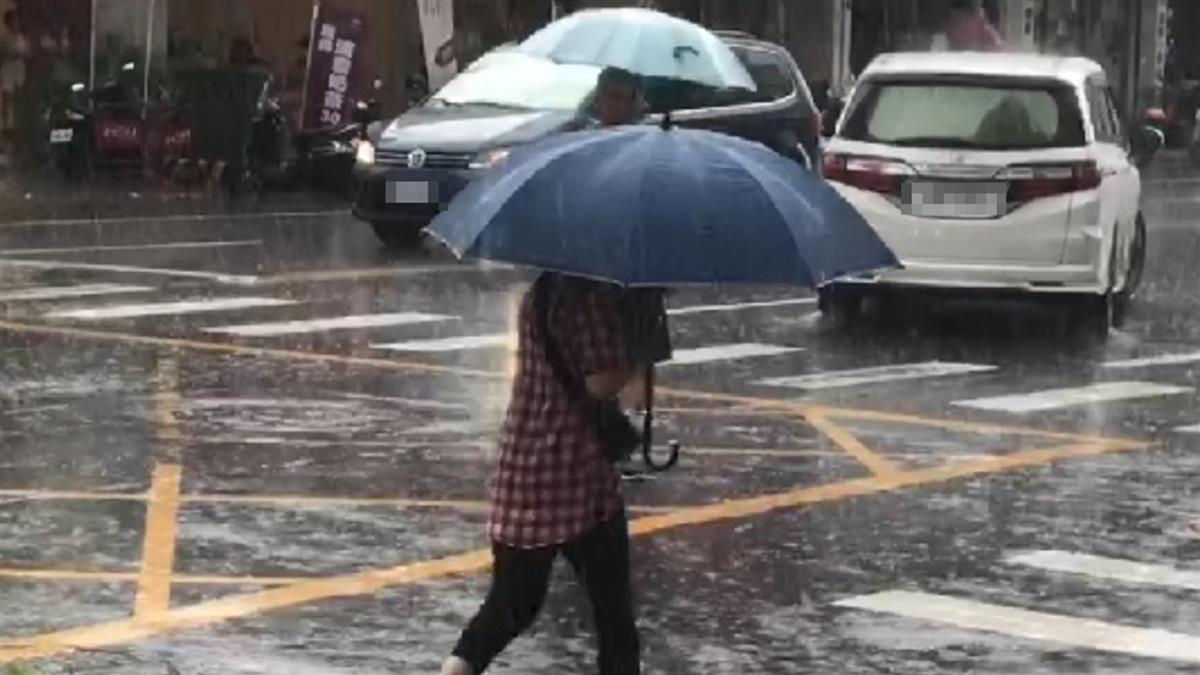 大雨再襲! 氣象局發布13縣市大雨特報