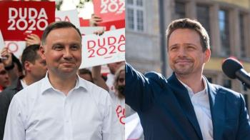 波蘭總統大選登場 杜達爭取連任力搏華沙市長