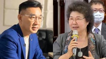 力挺黨團占議場 江啟臣:不撤換陳菊決不退出