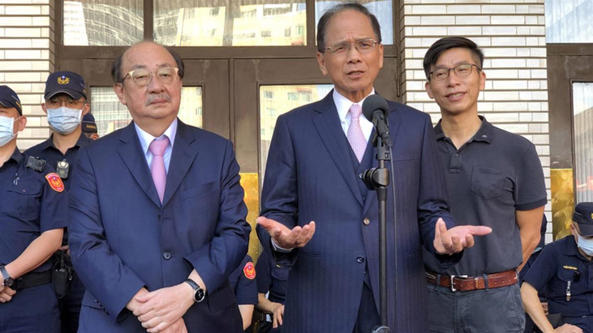 藍委占領議場  游錫堃籲各黨和平理性回歸程序