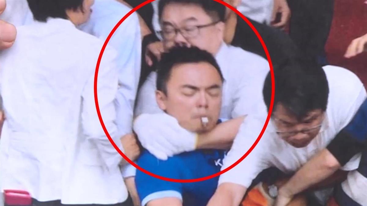 洪孟楷哽咽控勒脖:想殺人嗎?  綠委要他成熟點