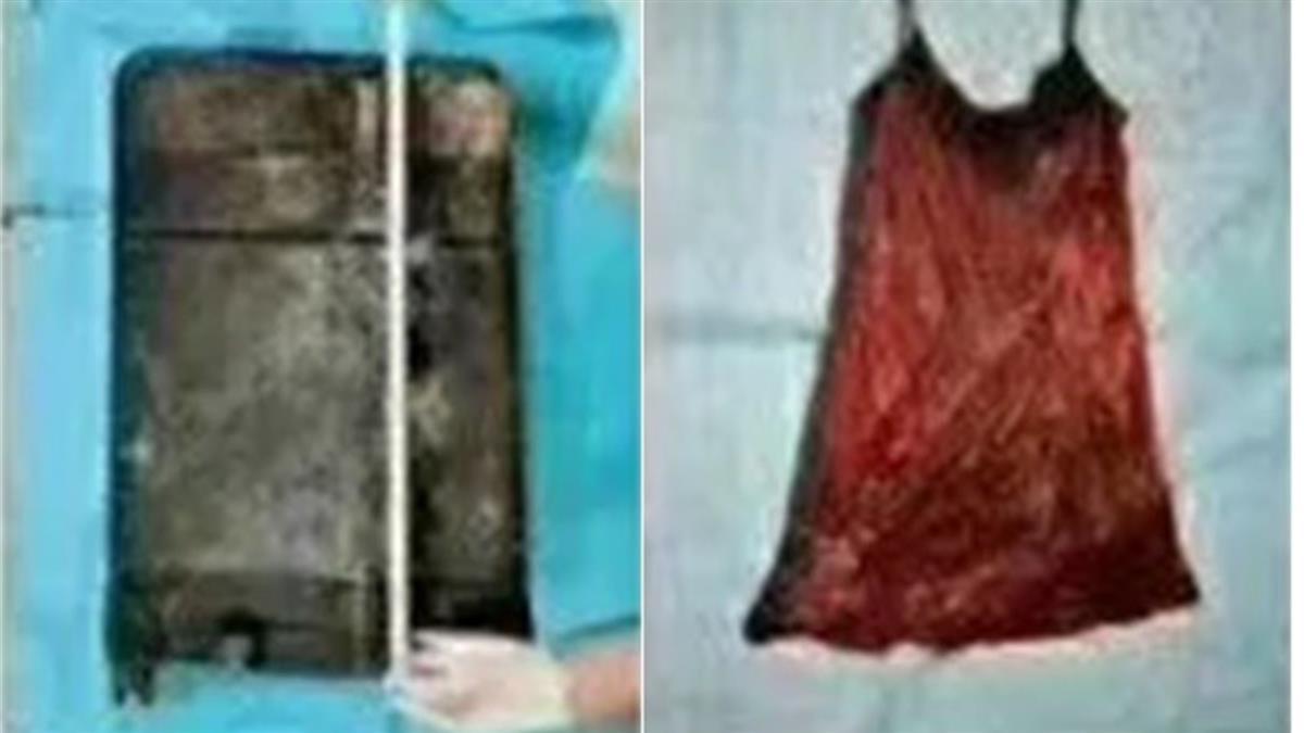 極度潰爛!25歲紅衣妹蜷曲28吋行李箱慘死 被塞5個香包