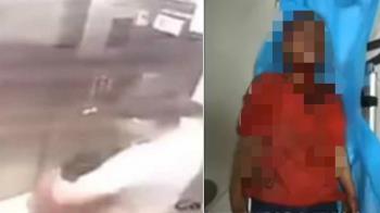 搭電梯被擄走!8歲童遭勒脖痛毆 渾身血倒臥停車場