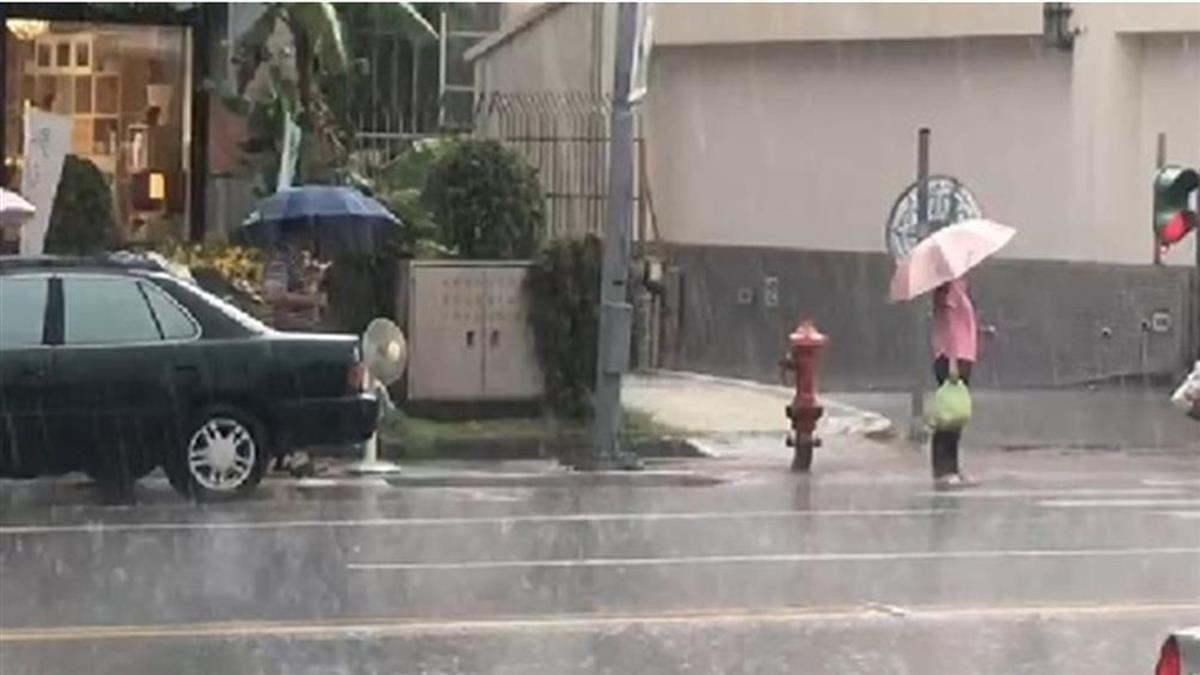 強降雨來襲!10縣市大雨特報 防雷擊、強風