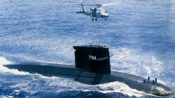 睽違13年 海軍劍龍級潛艦1日擬試射魚雷