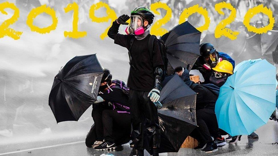 國安法頒布和香港示威週年:前線示威者回望過去一年的心路歷程