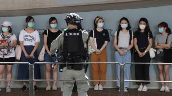 香港七一遊行 已拘捕180人有7人違反國安法