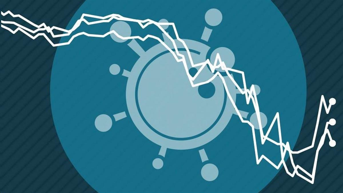 新冠疫情衝擊世界經濟 九張圖一目了然
