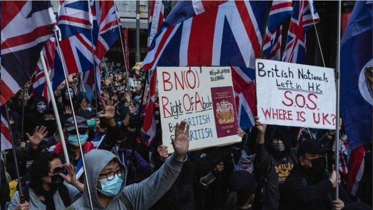 香港國安法:英國譴責中國「嚴重違信」 承諾兌現「歷史承諾」
