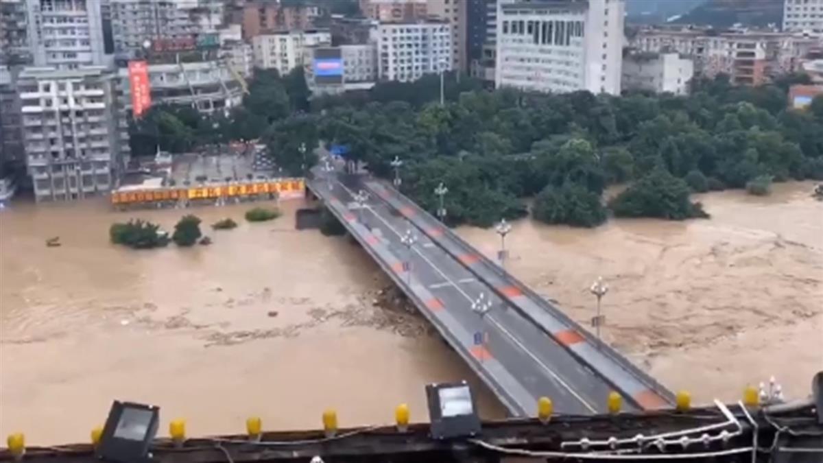 4樓以下做好準備!三峽大壩危機升級 上游清晨大地震