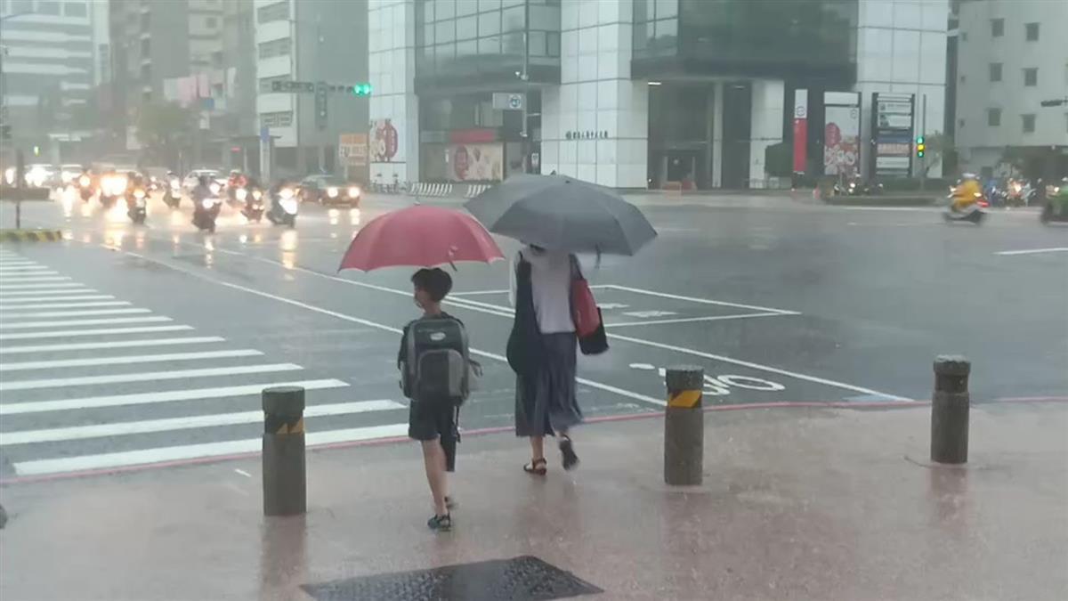 午後雨彈襲北北基!全台對流旺盛 17縣市大雨特報