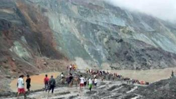 緬甸一處玉礦坍方 至少113死