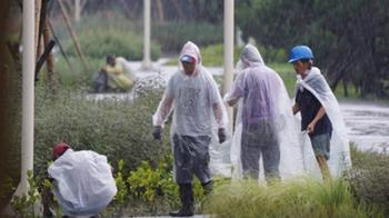 新北桃園一級淹水警戒 低窪地區慎防積淹水