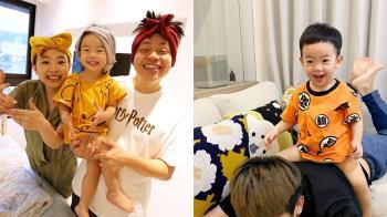 蔡阿嘎大手筆!蔡桃貴2歲生日 包下捷運站慶生7個月