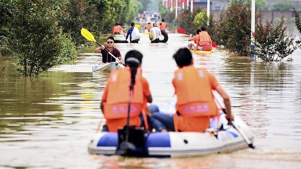 中國南方暴雨持續超一個月 罕見大洪水致81人死亡或失蹤