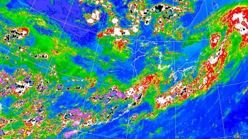 快訊/8縣市發布大雨特報 雙北市防雷雨強陣風