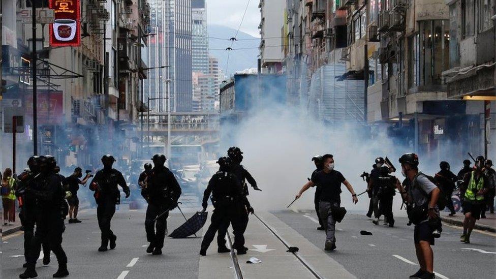 香港危機和世界新秩序 BBC分析英國未來中國政策